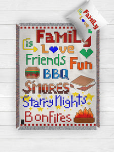 Family Is Love Blanket 2019