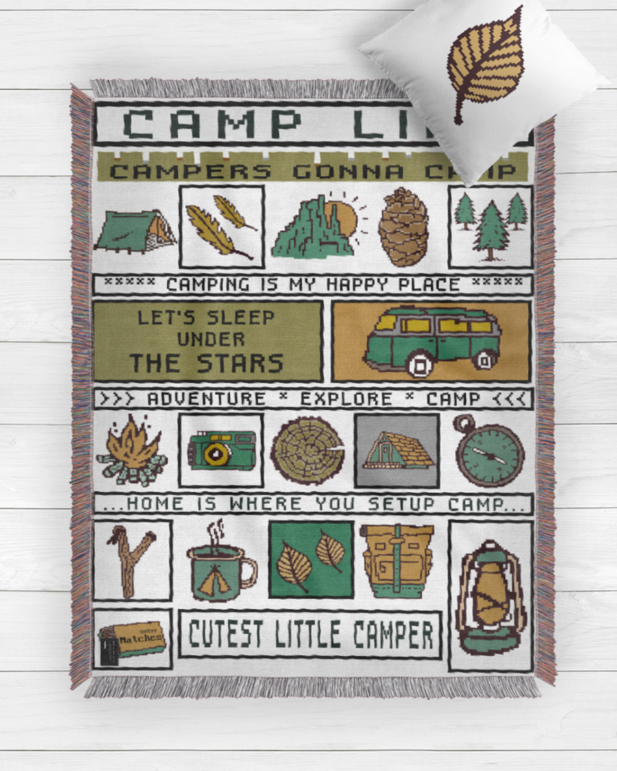 Campers Gonna Camp Blanket 2019