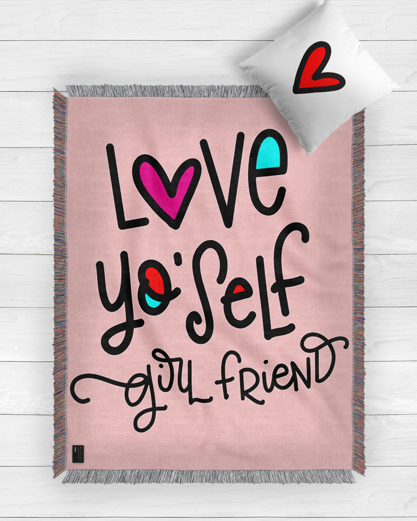 Love Yourself Blanket 2019