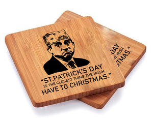 His Sayings Wooden Coasters