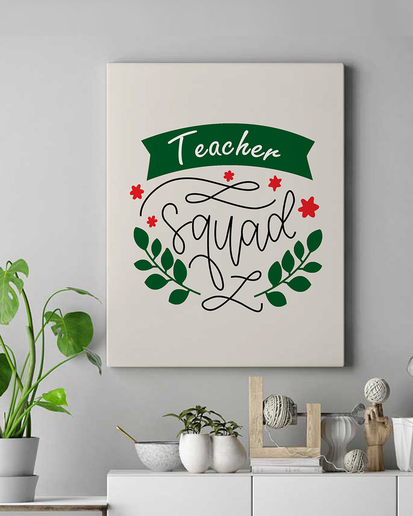 Teacher Squad Canvas