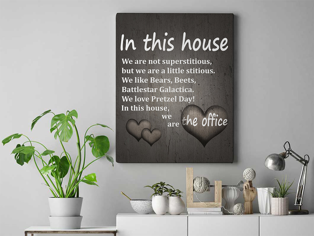 In This House Canvas