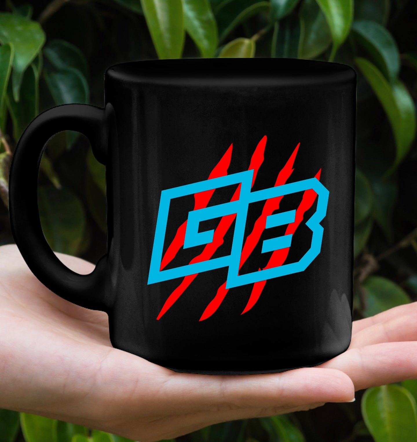 Blue GB Logo Mug