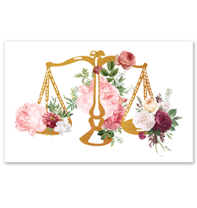 Lawyer Office Decor Gift Poster