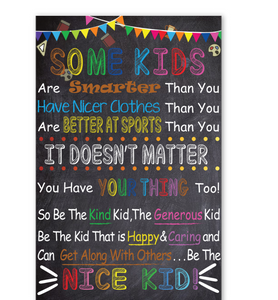 Be The Nice Kid 2019 Poster