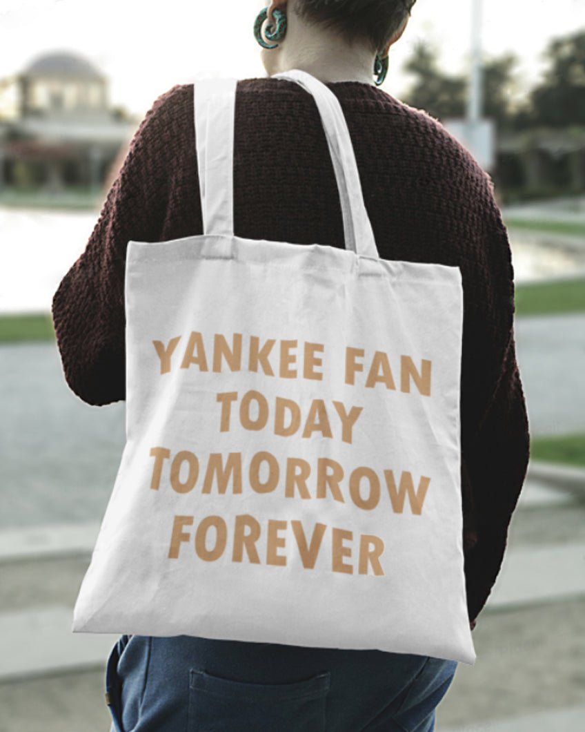 Be Fan Forever White Tote 2019