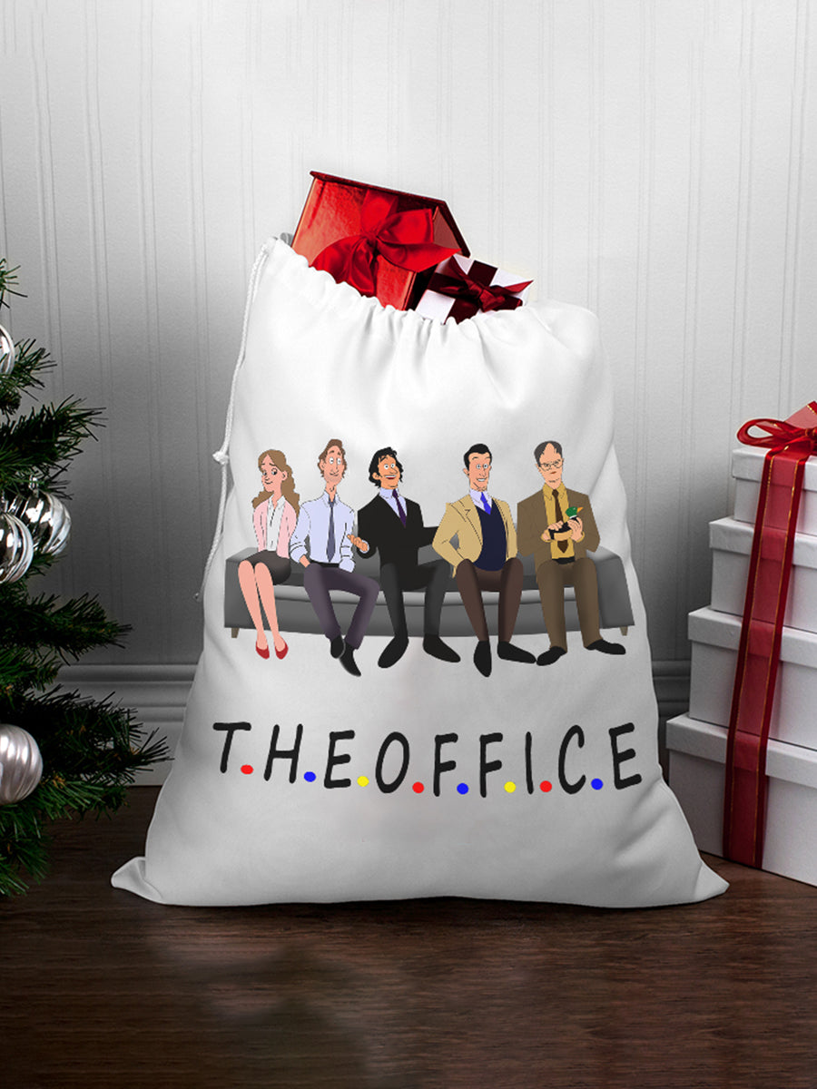 White O.F.F.I.C.E Five Laundry Bag