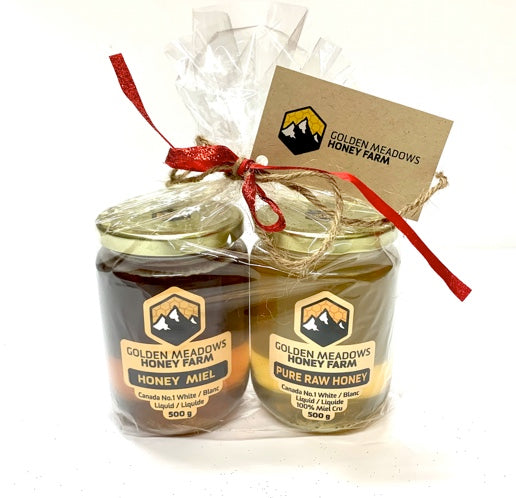 Honey Gifts Set - Blueberry & Fireweed
