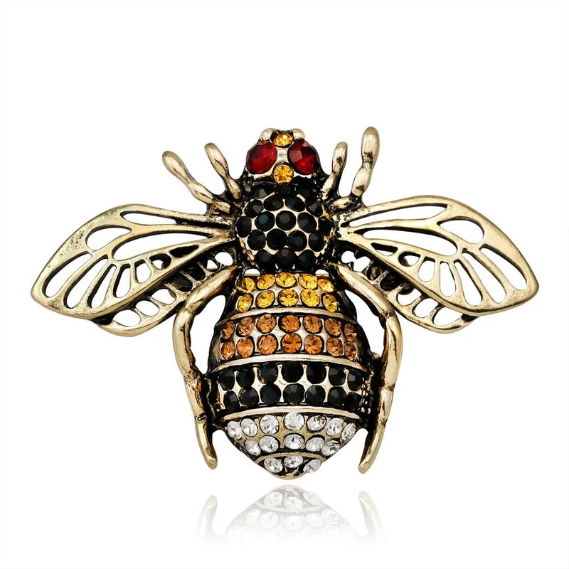 Ornate Bee Brooch / Pin
