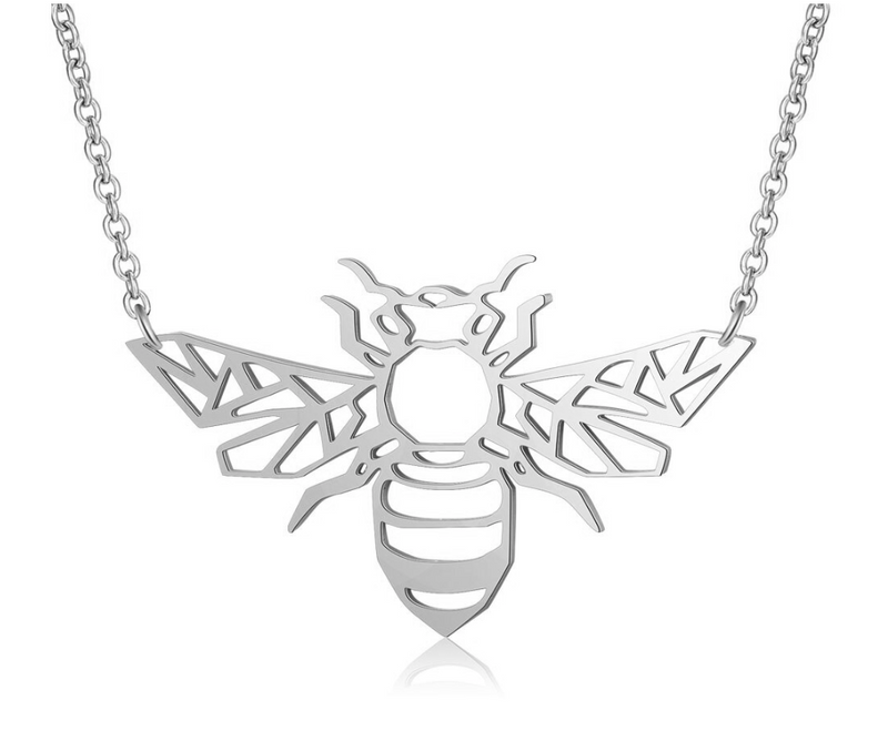 Origami Bee Necklace