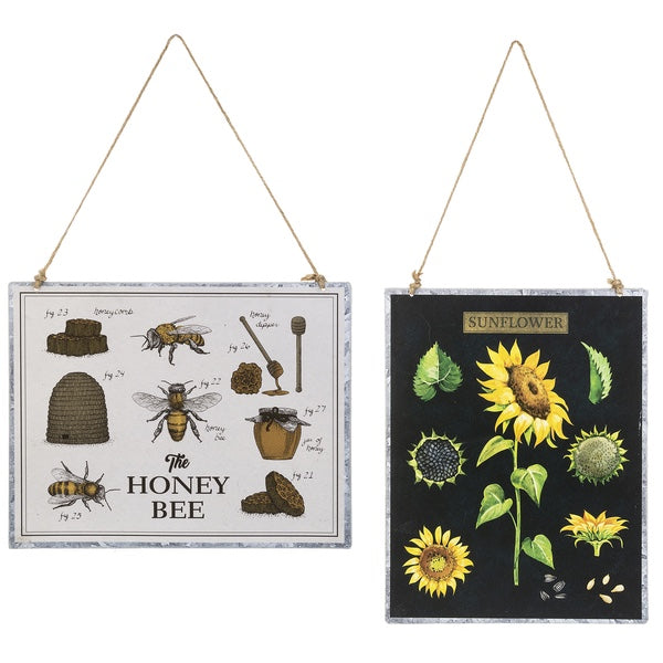 Honey Bee & Sunflower Wall Decor