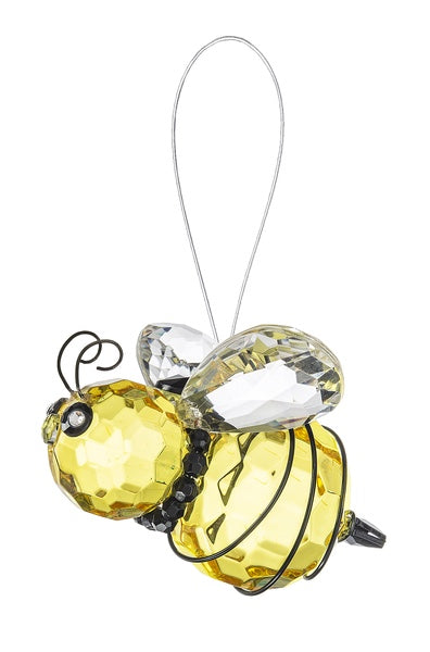 Crystal Expressions* Bee Ornament