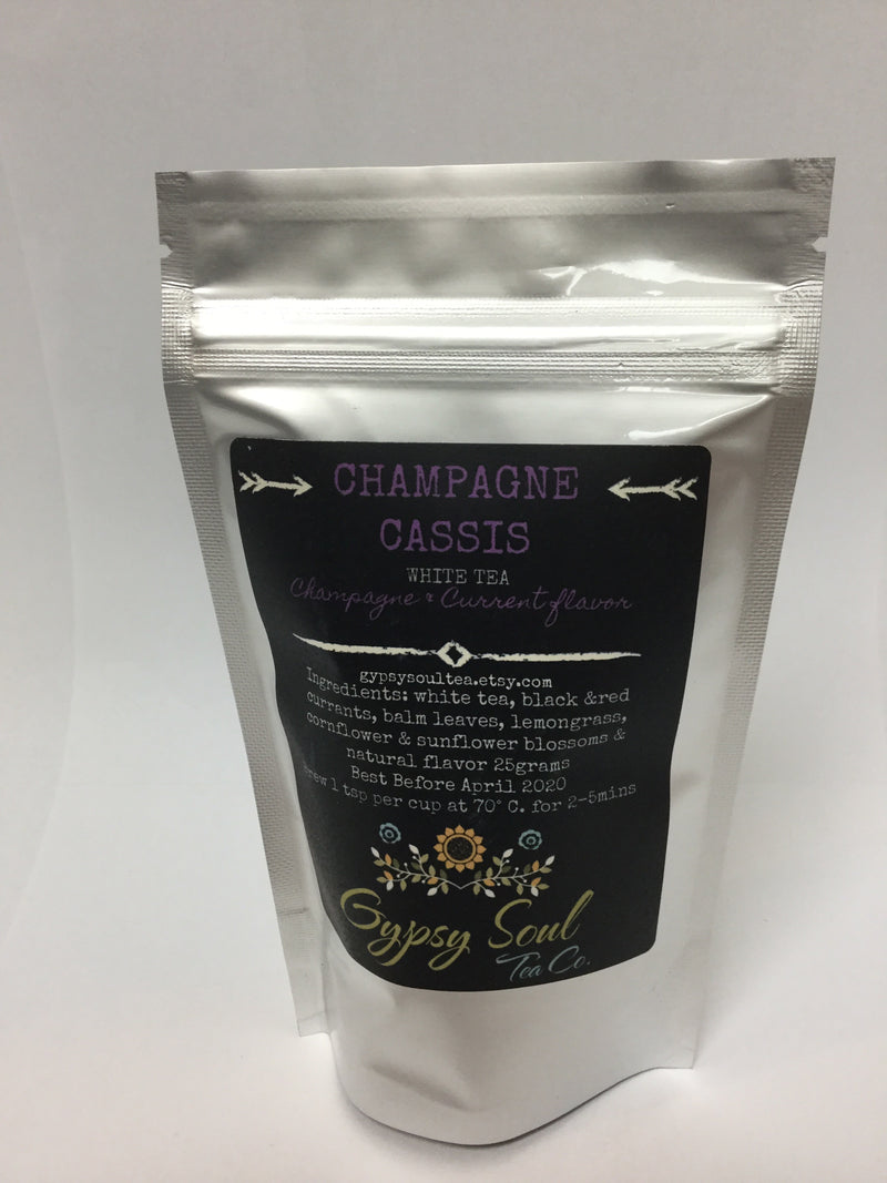 Champagne Cassis Tea