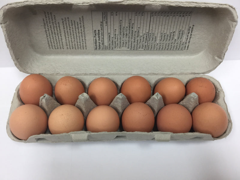 Farm Fresh Eggs Dozen
