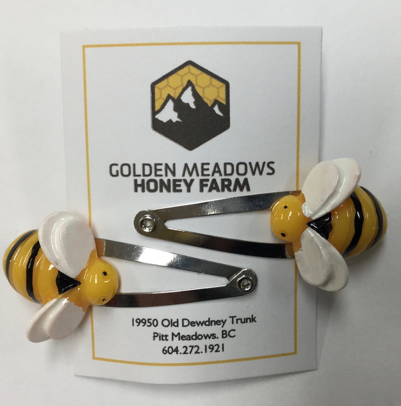 Bee Hair Clip 2 pack