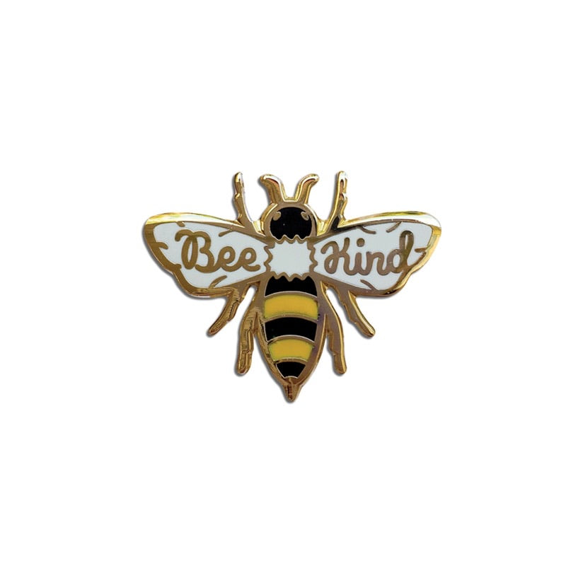 "Bee Pin / Brooch ""Bee Kind"""