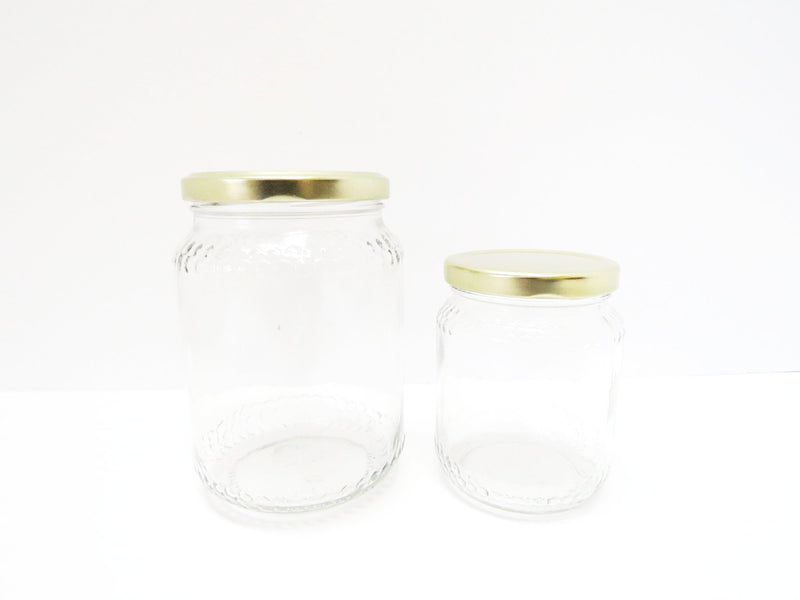Hexagon Pattern Jars