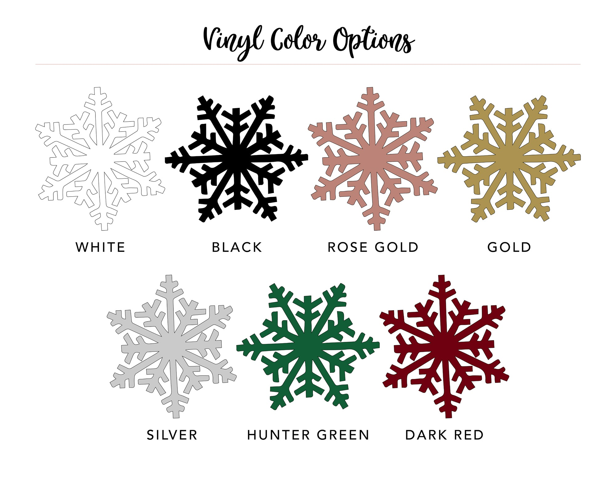 ornament design color options