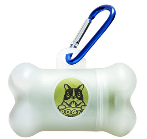 Poop bag leash holder
