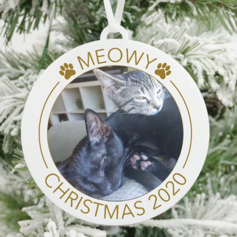 picture christmas ornament