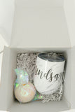 Feyoncé Wine Glass Engagement Gift Box