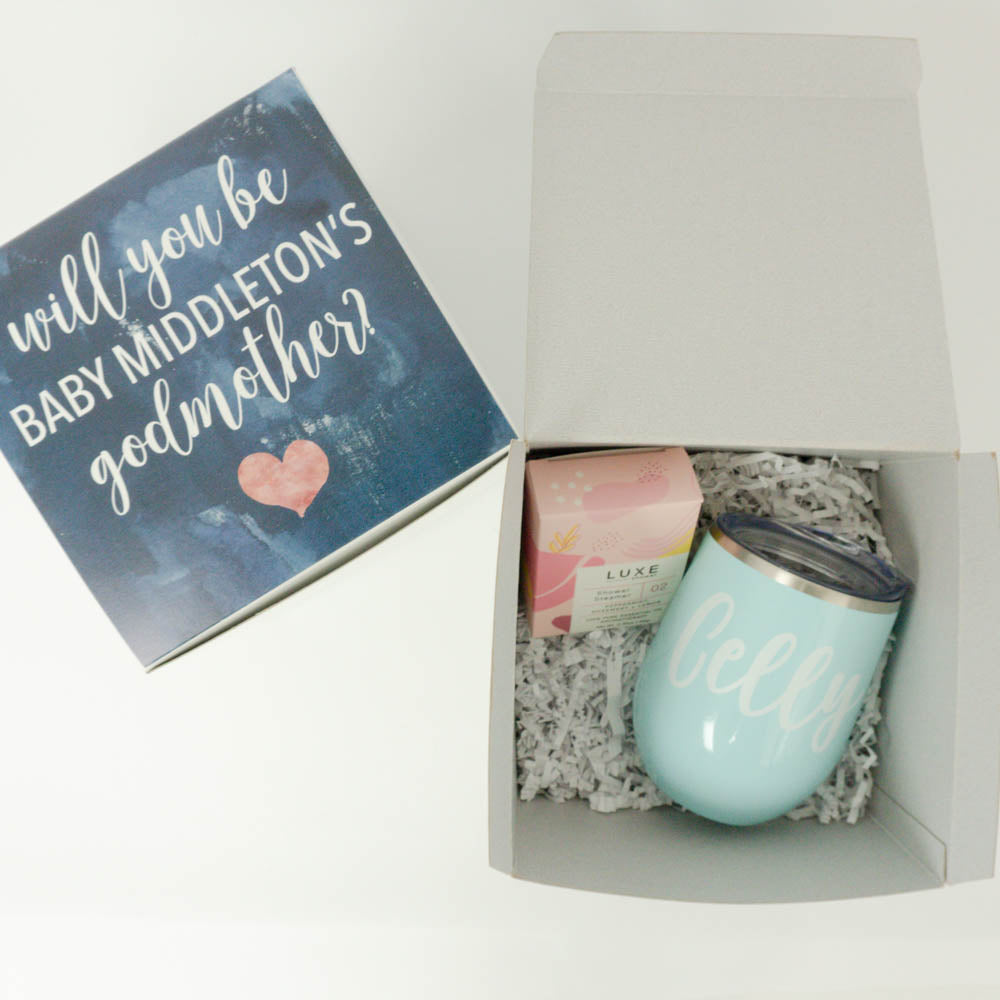Godmother Proposal Gift Box
