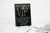 Become a VIP Acrylic Sign for Boutiques & Small Businesses