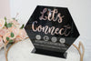 Let's Connect Acrylic Sign for Boutiques & Small Businesses