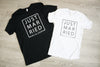 Just Married Shirt Set