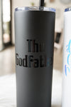 The Godfather and Fairy Godmother Tall Tumbler Set
