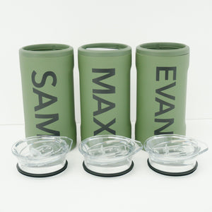 Groomsmen Name Brumate Hopsulator Trio
