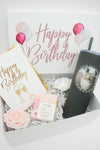 Happy Birthday Gift Box with Cat Photo Tumbler