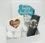 Happy Birthday Sending You All of Our Love Gift Box with Photo Tumbler