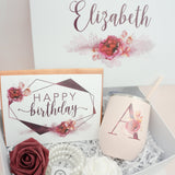 Fall Themed Happy Birthday Deluxe Gift Box