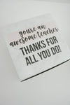 You're an Awesome Teacher Gift Box