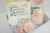 Fall Wreath Bridesmaid Proposal Deluxe Gift Box