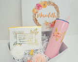 Fall Wreath Godmother Proposal Deluxe Gift Box