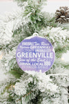 Greenville Christmas Ornament