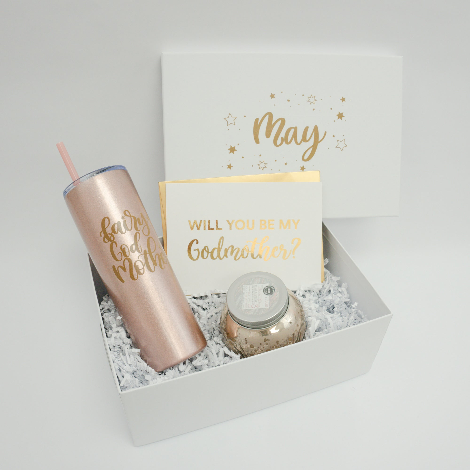 Godmother Proposal Deluxe Gift Box