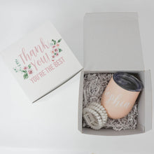Congrats Engagement Gift Box with Wine Tumbler & Can Cooler