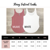 Personalized Mrs Flowy Festival Tank Top