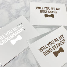 Groomsman Proposal Foiled Card & Envelope