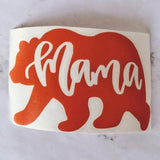 Mama Bear Vinyl Decal