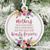 Mothers Hold Our Hearts Forever Christmas Ornament