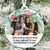 Great Friends Are Hard to Find Friendship Photo Christmas Ornament