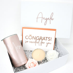 Congrats Mrs Deluxe Engagement Gift Box