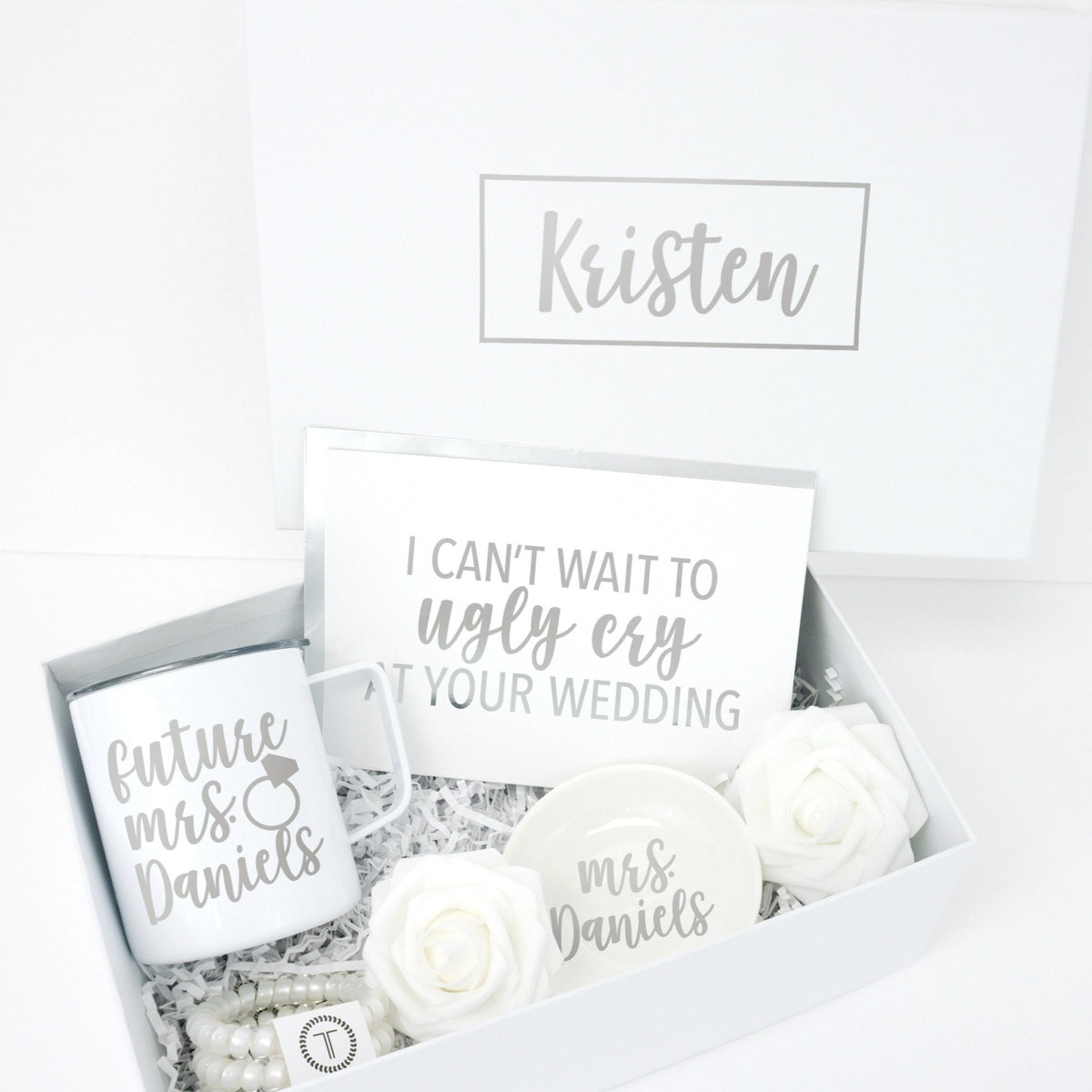 Ugly Cry at Your Wedding Deluxe Engagement Gift Box