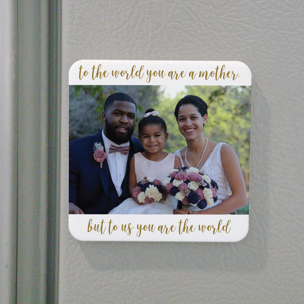 Personalized Mother Photo Magnet