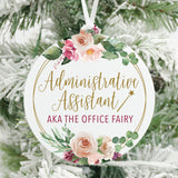 The Office Fairy Admin Assistant Christmas Ornament