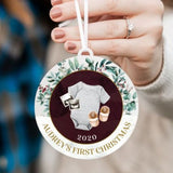 Baby's First Christmas Personalized Christmas Ornament